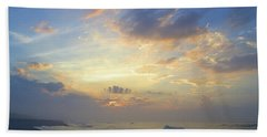 Spring Sunrise Hand Towel