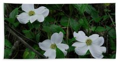 Hand Towel featuring the photograph Spring Time Dogwood by Mike Eingle