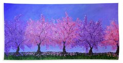 Spring Trees Bath Towel