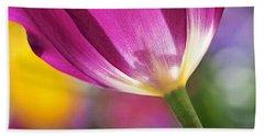 Spring Tulip Hand Towel