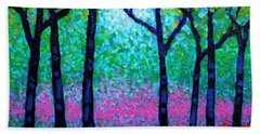 Spring Woodland Hand Towel