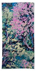 Springtime Colors Hand Towel