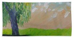 Springtime Willow Hand Towel