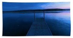 Springbrook Lake At Dawn Hand Towel