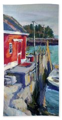 Spruce Head Island, Maine Bath Towel