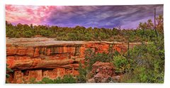 Bath Towel featuring the photograph Spruce Tree House At Mesa Verde National Park - Colorado by Jason Politte