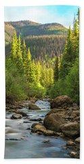 Squaw Creek, Colorado #2 Bath Towel