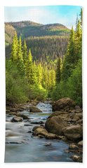 Squaw Creek, Colorado #2 Hand Towel