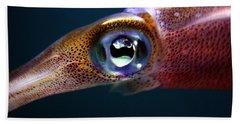Squid Eye Hand Towel