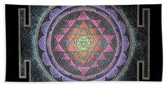 Sri Yantra Bath Towel