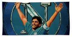 Ssc Napoli Painting Hand Towel