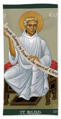 St. Aelred Of Rievaulx - Rlaor Bath Towel
