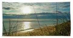 St Aug Sunrise Hand Towel