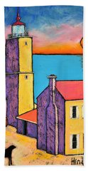 St Augustine Lighthouse Bath Towel