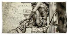 St. Augustine Street Life I Bath Towel