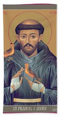 St. Francis Of Assisi - Rlfob Hand Towel