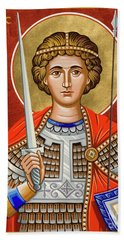 St. George Of Lydda - Jcgly Hand Towel