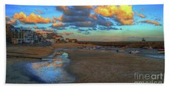St Ives Clouds And Beach Bath Towel