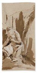 St. Jerome  Bath Towel