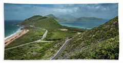 St. Kitts - View From Timothy Hill Bath Towel