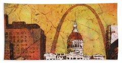 St. Louis Archway Bath Towel by Ryan Fox