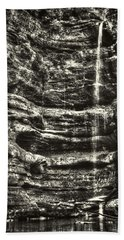 St Louis Canyon At Starved Rock State Park Hand Towel