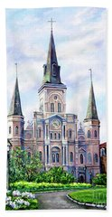 St. Louis Cathedral Hand Towel