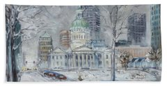 St. Louis Downtown Old Courthouse Bath Towel