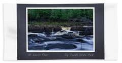 St Louis River Scrapbook Page 1 Bath Towel
