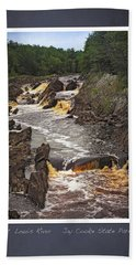St Louis River Scrapbook Page 3 Hand Towel