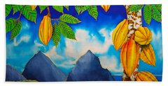 St. Lucia Cocoa Hand Towel