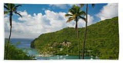 St Lucia - Marigot Bay Bath Towel