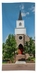 Hand Towel featuring the photograph St. Mark's Episcopal Church by Trey Foerster