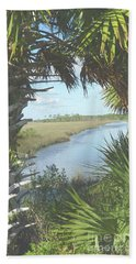 St. Mark's Marshes Hand Towel
