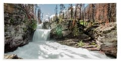 St. Mary Falls Bath Towel