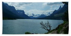St Mary Lake, Incoming Storm Hand Towel