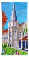 St. Mary's Catholic Church Key West Bath Towel