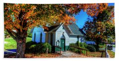 St Mary's Church Hand Towel by Dale R Carlson