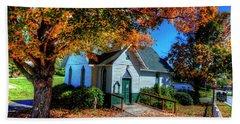 St Mary's Church Bath Towel by Dale R Carlson