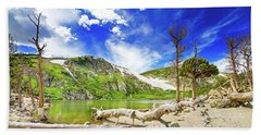 St. Mary's Glacier Bath Towel