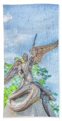 St Michael The Archangel Hand Towel