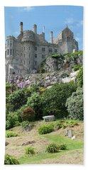 St Michael's Mount Castle II Hand Towel by Helen Northcott