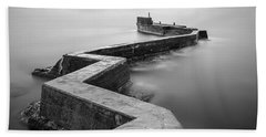 St Monans Breakwater Bath Towel