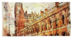 St Pancras Bath Towel by Nicky Jameson