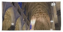 St. Patricks Cathedral Main Interior Bath Towel