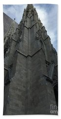 St. Patricks Cathedral Perspective Bath Towel