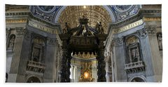 St. Peter's Basilica Bath Towel