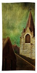 St Peter's By Night Bath Towel