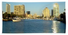 St Petersburg Florida Bath Towel