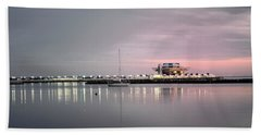 St Petersburg Pier Bath Towel